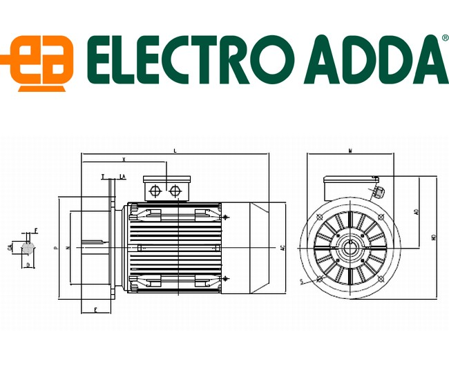 Plans encombrements ELECTRO ADDA